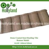Mattonelle di tetto d'acciaio rivestite di pietra (romane)