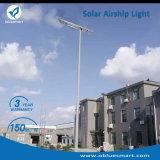 太陽電池パネルが付いている1つの太陽LEDの街灯の50Wすべて