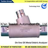 Metallic in linea Wear Debris Sensor per Lubricating Oil Monitoring
