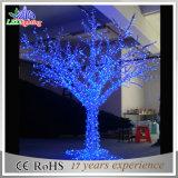 luzes decorativas artificiais da filial de árvore do diodo emissor de luz do Natal ao ar livre de 3m