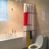 Tenda 100% di acquazzone europea del poliestere di stile per la stanza da bagno