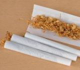 La pâte de lin Papier à cigarettes