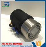 SS304 actuador neumático con la Posición señor de válvula de proceso Sanitaria
