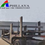 Los ejes de doble cilindro hidráulico portador de coche remolque vehículo de transporte
