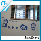 Forma sol espejo de pared de papel adhesivo acrílico fuerte