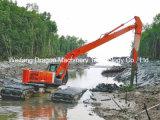 Exkavator verwendet für Wasser-Bauarbeit