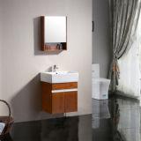 Kleine Badezimmer-Eitelkeits-Geräten-Wand hing Furnierholz-Schrank mit Spiegel