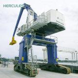 Grue de portique sur rail de conteneur de port avec le tableau