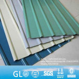 Лист крыши Galvalume JIS ASTM 0.5mm толщиной гальванизированный Corrugated