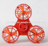 Alívio da Pressão recarregável lado girando os brinquedos que arvoram Fidget Spinner