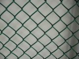 電流を通されたワイヤーチェーン・リンクの網の塀