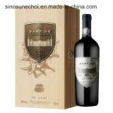 Singolo contenitore di legno in bottiglia di contenitore di legno di vino di alta qualità