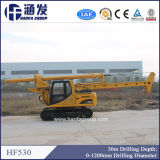 Alta qualità rotativa dell'impianto di perforazione di trivello del mucchio Hf530 migliore grande 30m