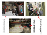 PVC mascotas rodillo de calor máquina de presión transversal ordenador cortador