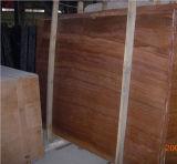 Madeira de mármore de lajes de mármore / telhas, mármore de madeira