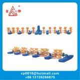 2HP 1,5 KW de piscicultura de roda de pás aerador arejador