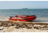 O barco de motor de /Inflatable do barco de pesca de Aqualand 12.5feet 3.85m/forças armadas de borracha salva (aql385)