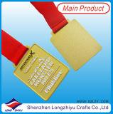 カザフスタンの金メダルの金属メダル円形浮彫りのスポーツの軍隊はメダルを与える