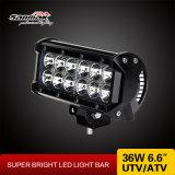 "Aluminio 6.5 "" 36W del CREE de la barra ligera del camino LED"