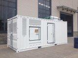 552kw/690kVA Doosan Dieselfestlegensets mit schalldichtem Kabinendach