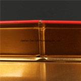Nueva llegada de navidad adornado caja de la lata de la galleta de caramelo caja de regalo (T003-V9)