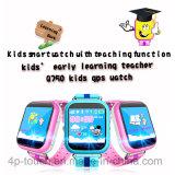안전 WiFi 또는 Lbs/GPS 위치 D19를 가진 지능적인 아이 또는 아이 GPS 추적자 시계