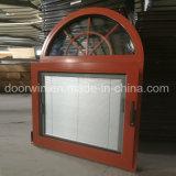 Salto térmico de inclinación de aluminio gire a la ventana con obturador integral