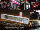 Calentador infrarrojo de bajo consumo de energía Calentador de cuarzo Calentador de confort