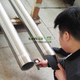 China-Draht eingewickelte kontinuierliche Schlitz-Wasser-Quellfilter-Filterröhren für Wasser-Vertiefungs-bohrende Projekte