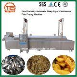 Bradende Machine van de Vissen van de Frituurpan van de Industrie van het voedsel de Automatische Ononderbroken