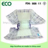 Tecidos descartáveis da absorção Tecido-Confortável filipino do bebê altamente em umas balas