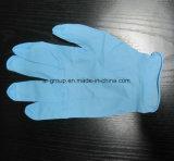 Pulverisierter und Puder-frei Wegwerfnitril-Handschuh für Zahnheilkunde