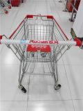 유럽식에 있는 고품질 슈퍼마켓 쇼핑 트롤리