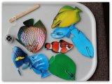 어업 게임 자석 스티커 자석
