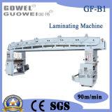 Máquina de papel seca de la laminación de la velocidad media del control de ordenador con pegamento