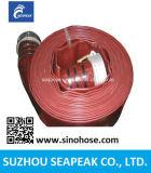 Qualité d'alimentation de la poser à plat en PVC flexible de tube de pompe