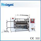 Vitesse élevée de refendage entièrement automatique et de rembobinage de la machine pour les pellicules et papiers
