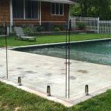12mm Frameless clair le verre trempé de la piscine l'Escrime