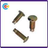 Fixations en acier personnalisés atypique tête bombée de la broche de rivet