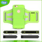 5.5のインチの携帯電話のプラスiPhone 7のための反射連続したスポーツの腕章