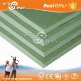 scheda di gesso della prova dell'acqua di colore verde di 12.5mm per il divisorio della parete