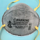 Respirador N95 con el carbón y la válvula Ffp que protege contra virus