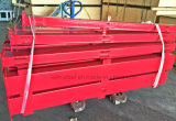 빠른 강한 강철 구조물 담 철 방책을 설치하십시오