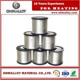 Résistance précise d'alliage recuite par fil bon marché du fournisseur Ni60cr15 des prix Nicr60/15