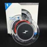 garniture de remplissage sans fil en cristal de chargeur sans fil de téléphone cellulaire de 5V 1A