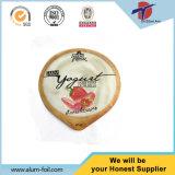 91mm Durchmesser-Wärme-Seealuminiumfolie-Schutzkappe für Joghurt