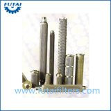 Het in het groot Metaal van het Roestvrij staal sinterde Filter van de Kaars van de Filter van het Poeder de Cilinder Geplooide