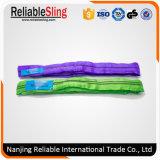 1 Ton Polyester Endless Round Lifting Rigging Sling