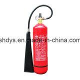 Cilindro de gás de 5 kg para extintor de incêndio com certificação Ce