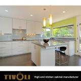 絵画光沢度の高いFinisheおよび張り合わせられたデザインTivo-0148hの素晴しく黒く黒い食器棚